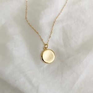 Jewelry - NWT Gold Filled Circle Necklace